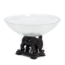 Dark Bronze Elephant Bowl at Kirkland's