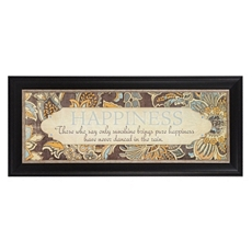 Happiness Framed Art Print at Kirkland's