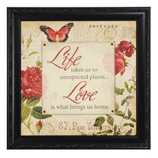Love Postcard Framed Art Print at Kirkland's