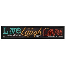 Live Laugh Love Framed Art Print at Kirkland's
