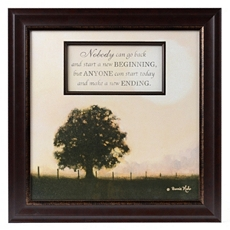 Beginning & End Framed Art Print at Kirkland's