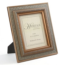 Blue & Gold Photo Frame, 8x10 at Kirkland's