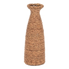 Natural Seagrass Vase at Kirkland's
