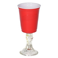 Red Cup Wine Glass at Kirkland's