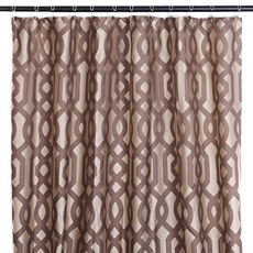 Chocolate Gate Shower Curtain at Kirkland's