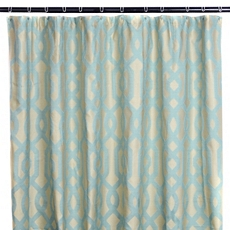 Aqua Gate Shower Curtain at Kirkland's