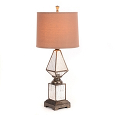 Antique Mirrored Table Lamp at Kirkland's