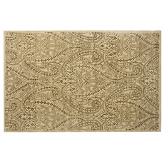 Ivory Teena 100% Wool Area Rug at Kirkland's