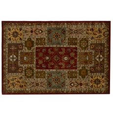 Luna Paprika 100% Wool Area Rug at Kirkland's