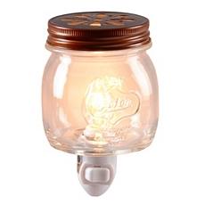 Glass Jar Night Light at Kirkland's