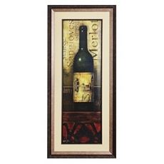 Merlot Framed Art Print at Kirkland's
