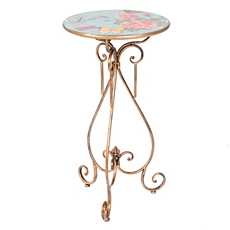 Vintage Rose Metal Plant Stand at Kirkland's