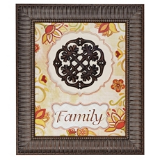 Family Bronze Medallion Shadowbox at Kirkland's