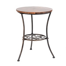 Medallion Round Accent Table at Kirkland's