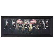 Unity Military Framed Art Print at Kirkland's