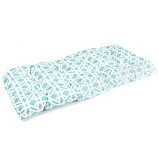 Turquoise Lattice Outdoor Settee Cushion at Kirkland's