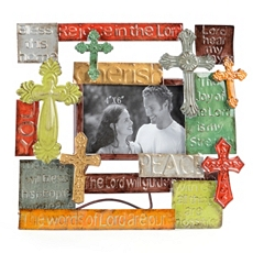 Metal Multi-Cross Photo Frame, 4x6 at Kirkland's