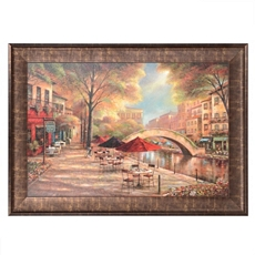 Riverwalk Charm Framed Art Print at Kirkland's