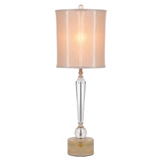 Neutral Crystal Table Lamp at Kirkland's