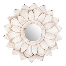 Lucy Flower Petal Wall Mirror at Kirkland's