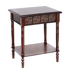 Cates Mahogany Accent Table at Kirkland's