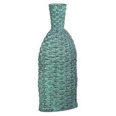 Blue Woven Floor Vase at Kirkland's