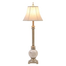 Neutral Ceramic Buffet Lamp at Kirkland's