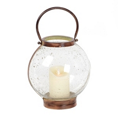 Pebble Glass Lantern, 11 in. at Kirkland's