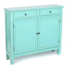 Antique Turquoise Cabinet at Kirkland's