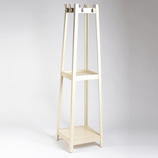 Antique Cream Wood Coat Rack, 72 in. at Kirkland's