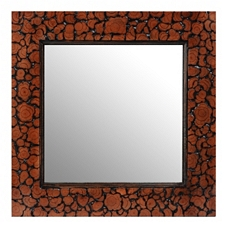 Akiva Rosewood Wall Mirror, 23x23 at Kirkland's