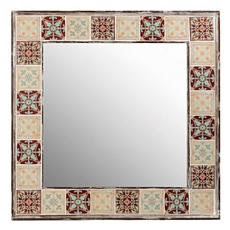 Mujeres Ceramic Tile Mirror, 36x36 at Kirkland's