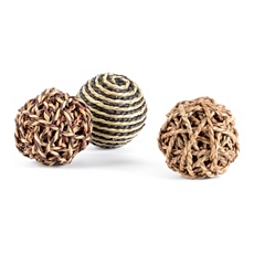Woven Seagrass Orb, Set of 3 at Kirkland's