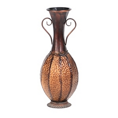 Double Handle Bronze Floor Vase at Kirkland's