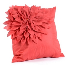 Red Bloom Petal Pillow at Kirkland's