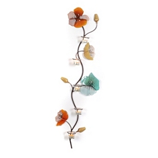 Lana Flower Metal Wall Art with Tealight Holders at Kirkland's