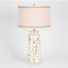 Sea Shell Glass Table Lamp at Kirkland's