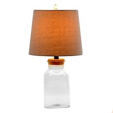 Glass Jar Table Lamp at Kirkland's