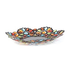 Jeweled Metal Bowl at Kirkland's