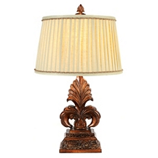 Antique Gold Fleur-de-Lis Table Lamp at Kirkland's