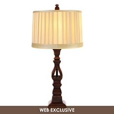 English Chestnut Table Lamp at Kirkland's