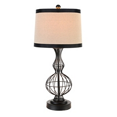 Black Wire Body Table Lamp at Kirkland's