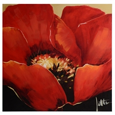 Poppy Majesty Canvas Art Print at Kirkland's