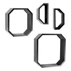 Octagon Cube, Set of 4 at Kirkland's