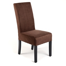 Mocha Microfiber Parsons Chair at Kirkland's