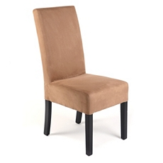 Sand Microfiber Parsons Chair at Kirkland's