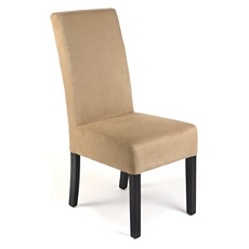 Khaki Microfiber Parsons Chair at Kirkland's