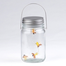 Hanging LED Firefly Jar at Kirkland's