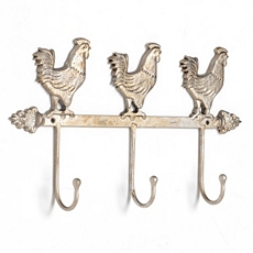 Rooster Triple Wall Hook at Kirkland's
