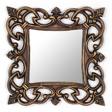 Imperial Square Mirror, 13x13 at Kirkland's